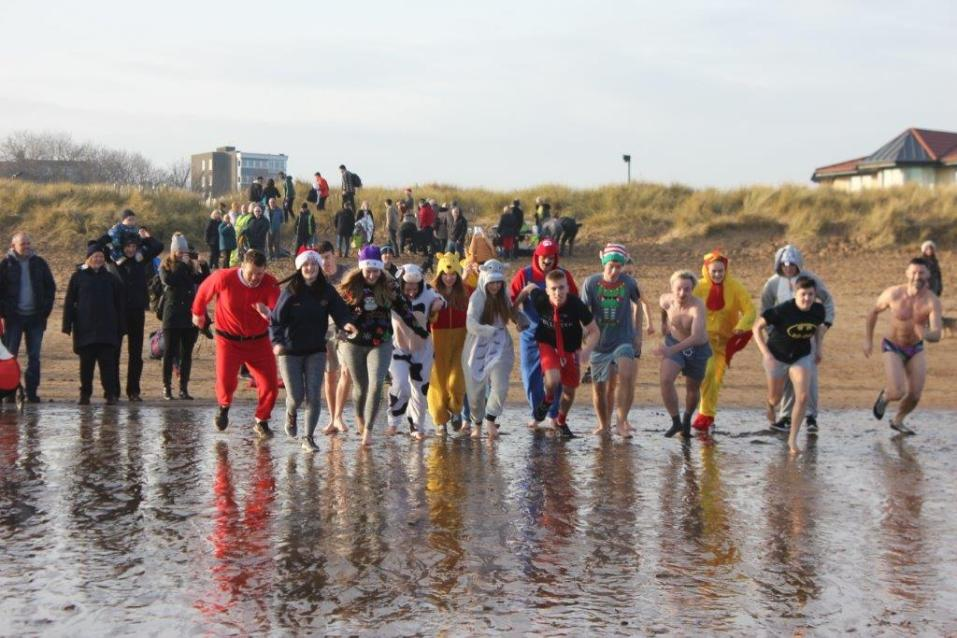 Fundraising Boxing Day Dip