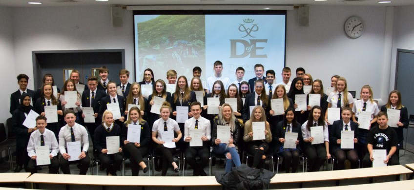 DofE Bronze Presentation Evening 2018 -17
