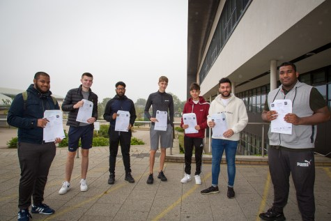 A Level Results Day 2020-3