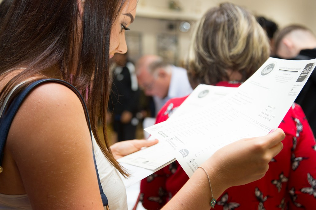 GCSE Results Day 2017 - -48