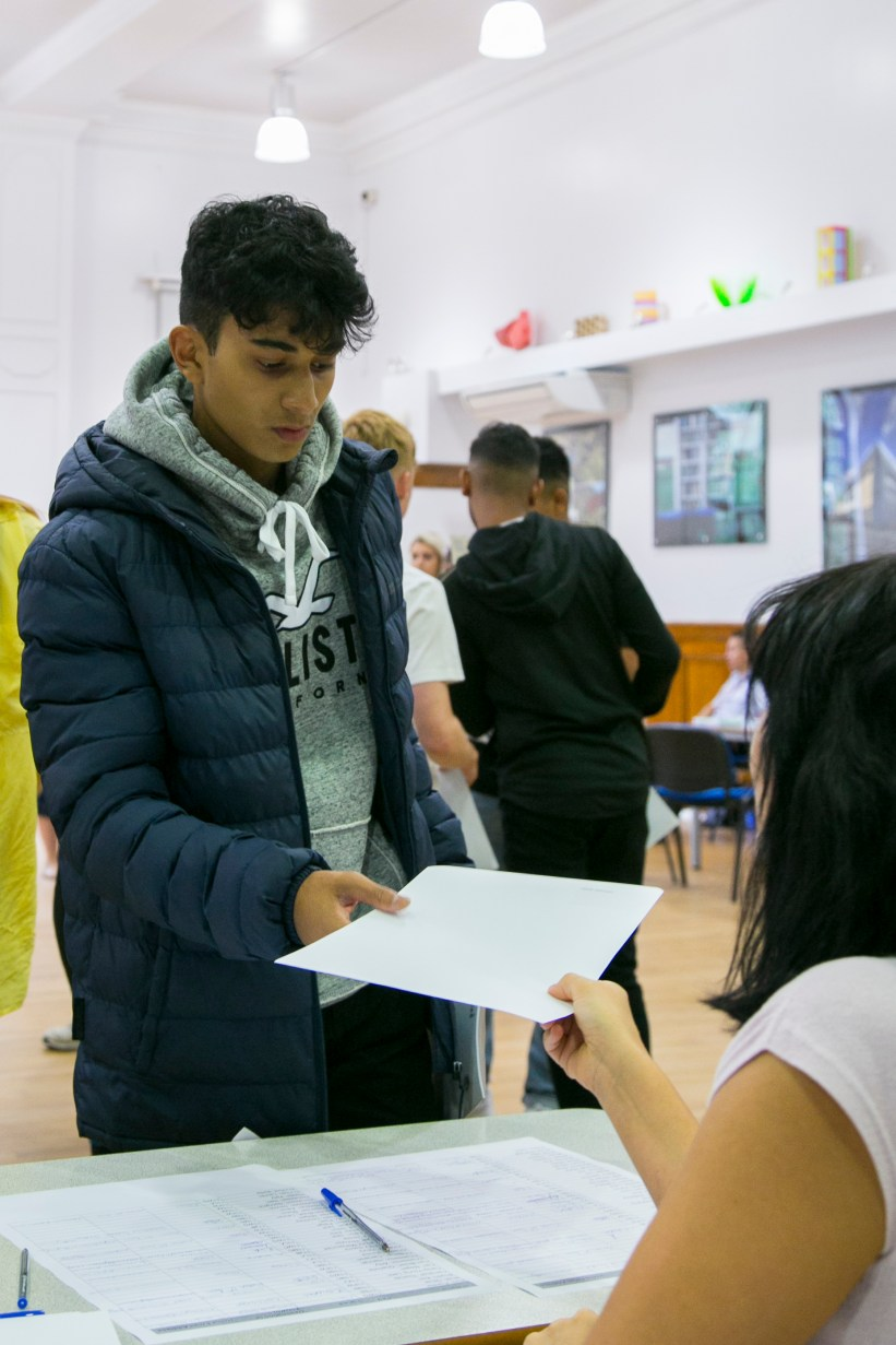 A levels Results 2018 - Salmaan2