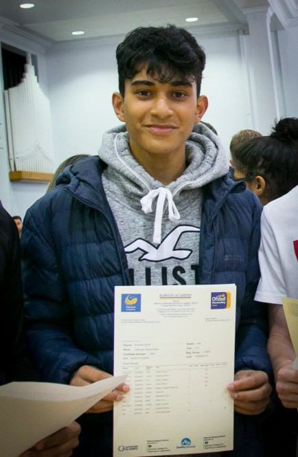 A levels Results 2018 - Salmaan1