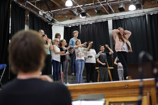 School of Rock reharsals -013
