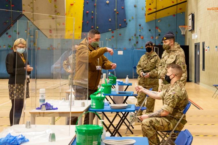 Mass Testing setup with Army-11