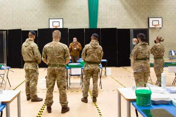 Mass Testing setup with Army-19