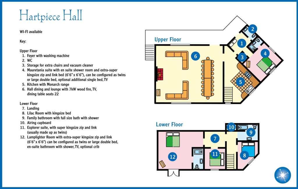 layout great hall plan hartpiece