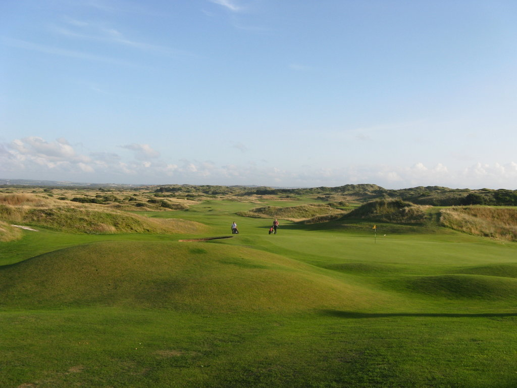 saunton golf course in north devon