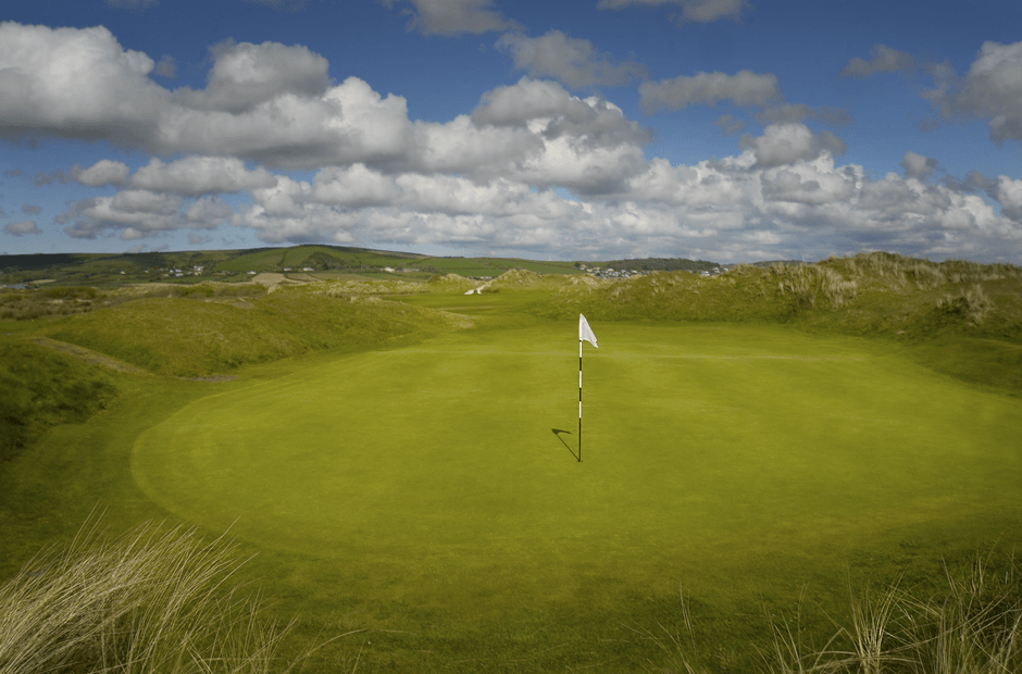 golf courses in north devon