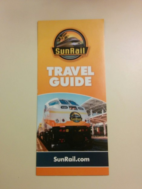 SunRail Travel Guide.