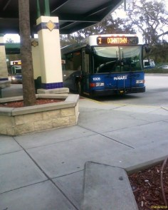 #1005 at the UATC. Photo Credit: Orion 2003.