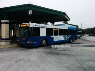 #2425 at the University Area Transit Center - Route 1.