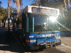 #1012 on recovery at the University Area Transit Center.