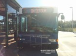 #1507 basks in the sun before its run on Route 39.