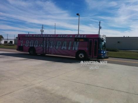 #2928 leaving the Northwest Transfer Center.