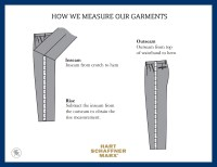 Mens Inseam Size Chart