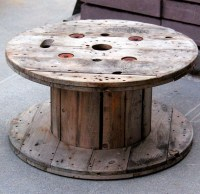 LET'S STAY: Spool Tables