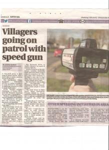 speed gun patrols