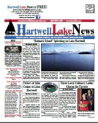 Hartwell Lake News Fall 2014 Edition - Thumbnail