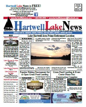 January 2015 / Winter Edition of the Hartwell lake News