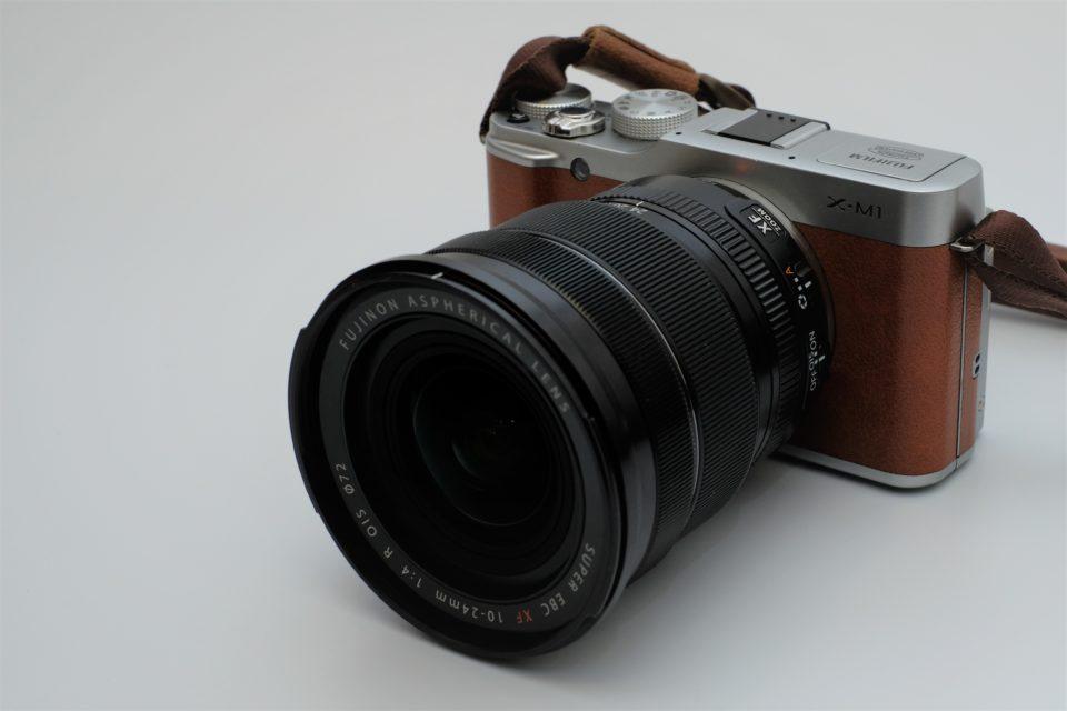 XF10-24 + X-M1