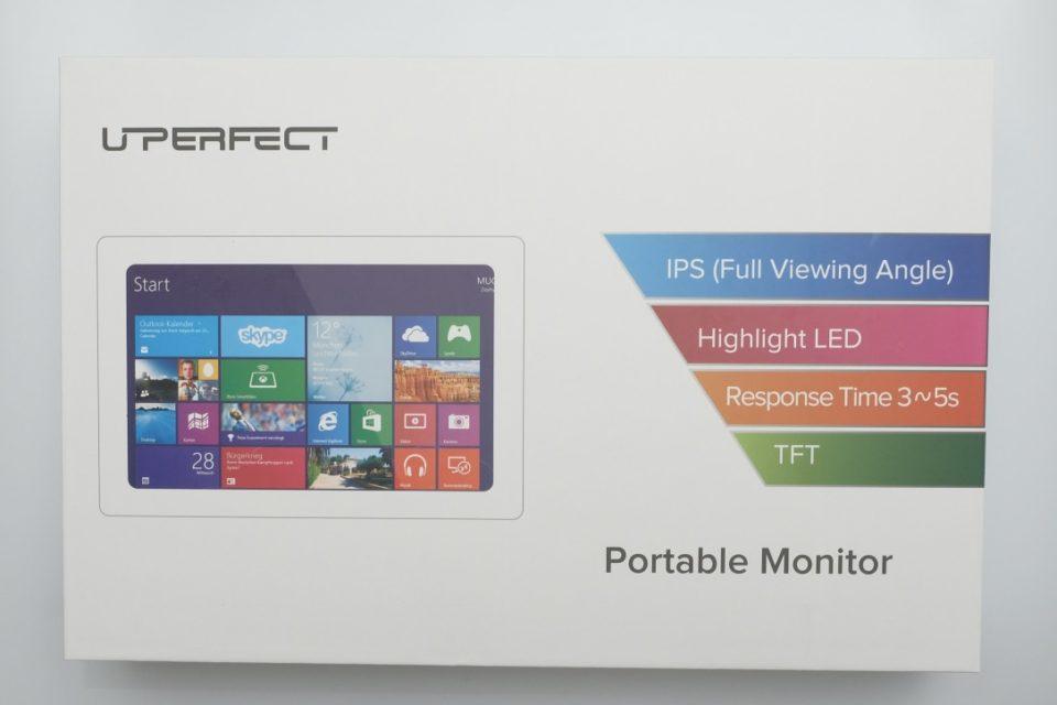 Uperfect 4k モバイルモニター レビュー
