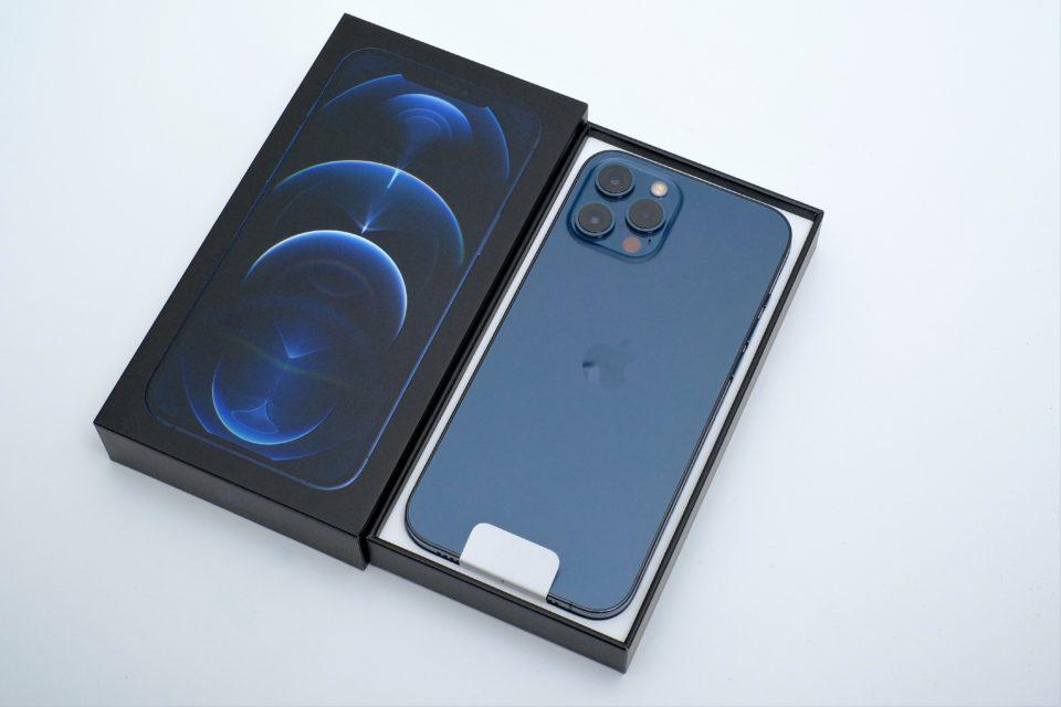 iPhone 12 Pro Max,付属品,開封,