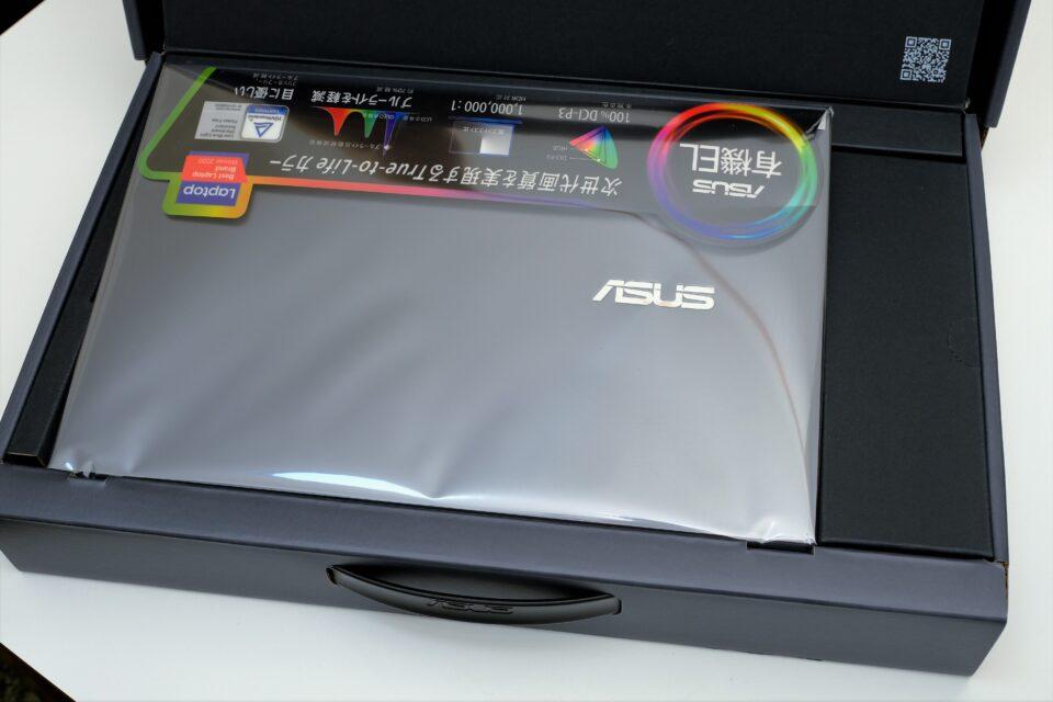 ASUS,ZenBook13,OLED,UX325,レビュー,ブログ,評価,感想