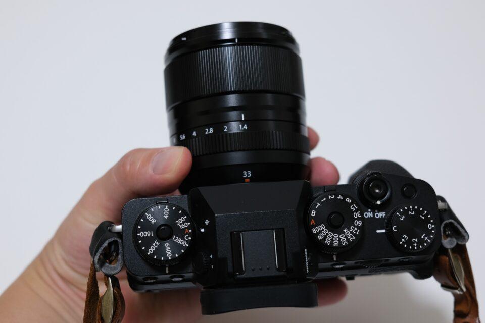 フジノンレンズ ,XF33mm F1.4 R LM WR,xf33f1.4,開封,購入,ブログ,感想,レビュー,比径較,価格,X-T4