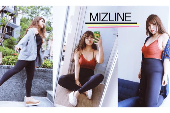 棉花糖女孩運動穿搭X韓國MIZLINE-A010運動機能褲!收腹提臀~視覺直接顯瘦5kg♥