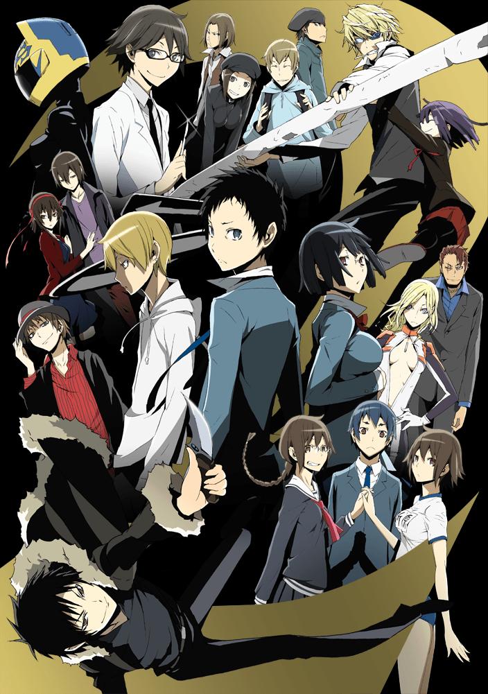 Durarara!!x2 Anime Visual_Haruhichan.com_