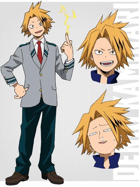 Eijirou Kirishima and Denki Kaminari Boku no Hero Academia Character Designs Revealed 1