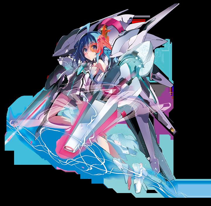 Gakusen Toshi Asterisk character design Saya Sasamiya