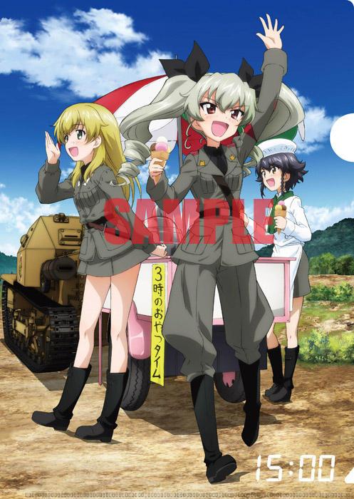 Girls Und Panzer Movie Clear Files Anime Illustration 010