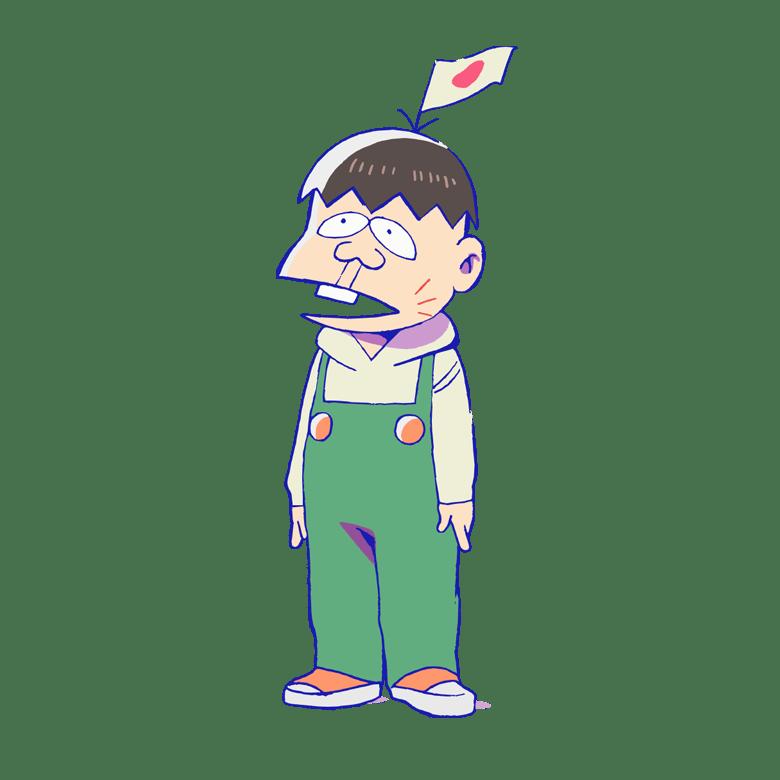 Hatahou Character Design
