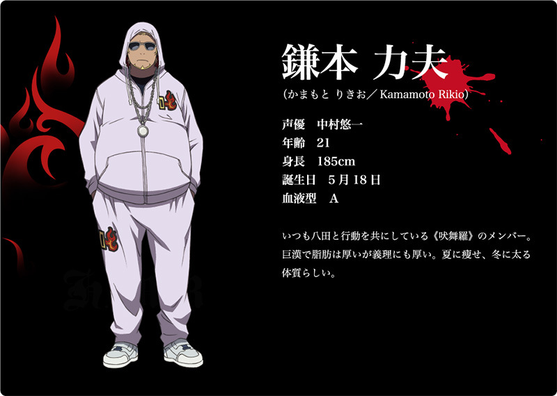 K 2nd Season Visuals and Additional Cast Revealed Main Cast Character Design rikio kamamoto