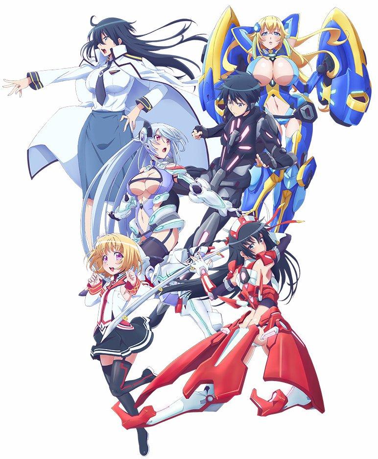 Masou Gakuen HxH TV Anime visual