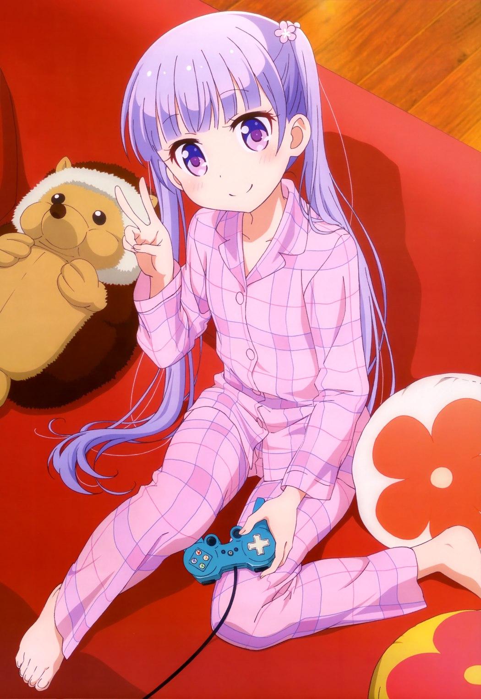 Megami-Magazine-June-2016-anime New Game