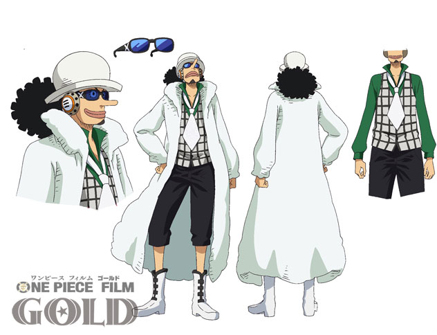 One Piece Film Gold Character Designs 0015