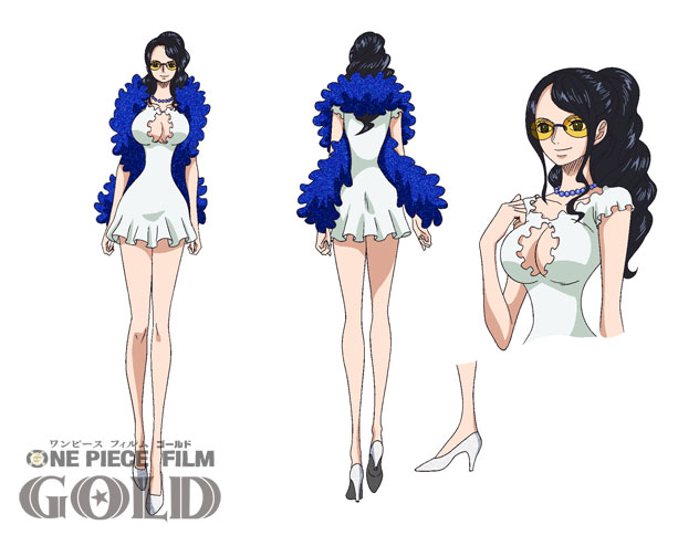 One Piece Film Gold Character Designs 0016