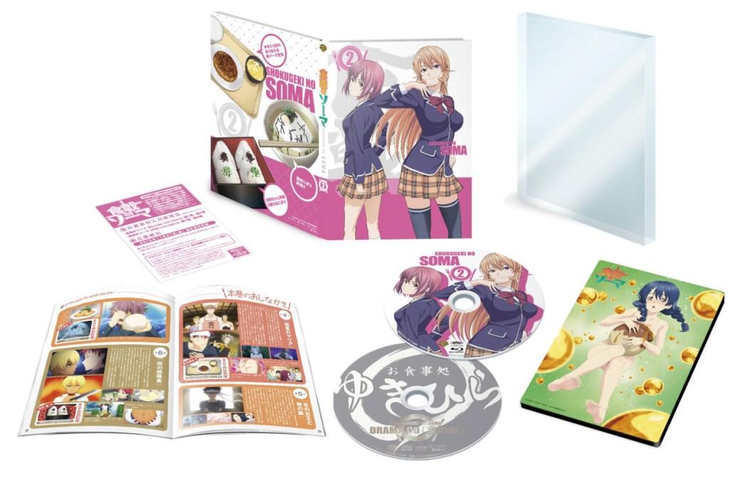 Shokugeki no Souma Blu-ray anime volume 2 2