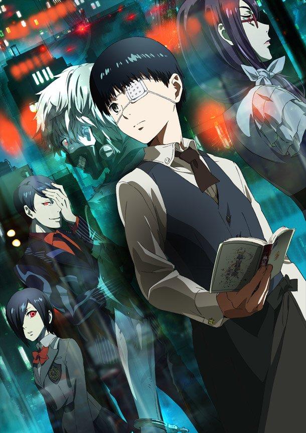 Tokyo Ghoul Horror Anime Taneki Anime Trending Rankings of Summer 2014 – Week 5