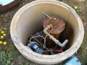 除鉄槽と除菌器