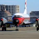 航空自衛隊では現役 国産旅客機YS-11