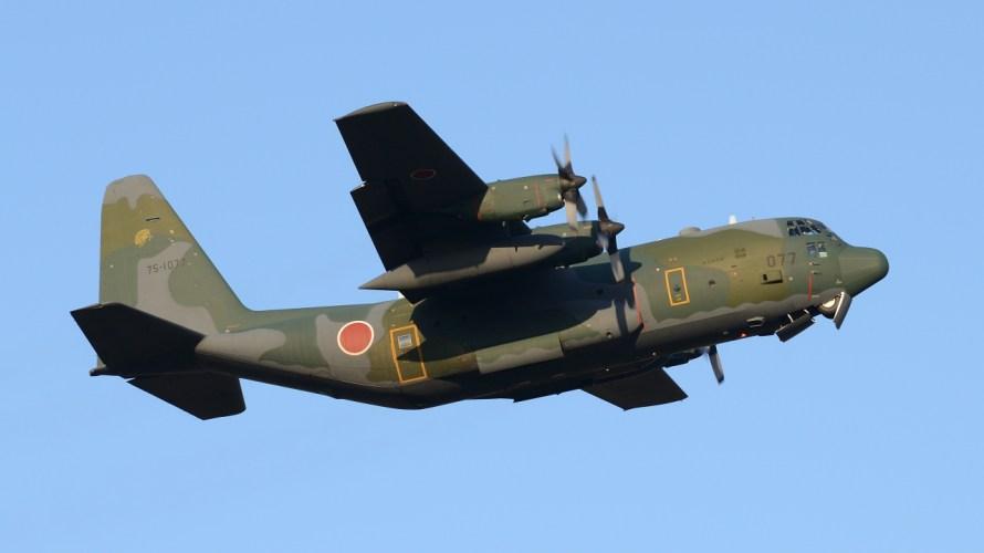 戦術輸送機の原点にして頂点・C-130ハーク