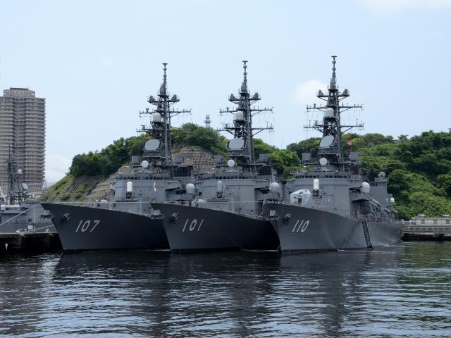 これらの艦は全て二等海佐が艦長