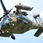 ブラックホークUH-60は腰に優しくないヘリコプター