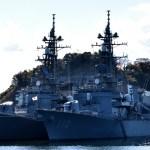 塗装規則変更で見る、護衛艦・自衛艦のロービジ化