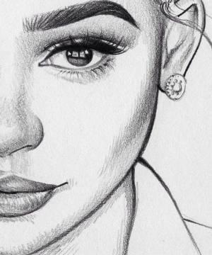 drawing beginners easy try face harunmudak