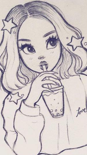 drawing easy draw sketches harunmudak aesthetic