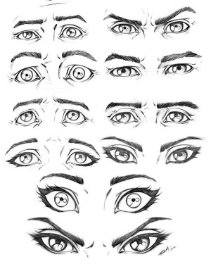 eyes drawing eye male expressions female comic sketch reference face robertmarzullo deviantart anime draw cartoon drawings sketches comics various beginners